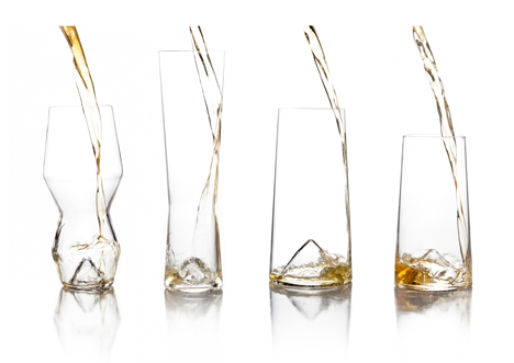 Monti beer glasses designed by Sempli