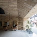 Okuwada gives Mook salon in Osaka an oak-panelled makeover