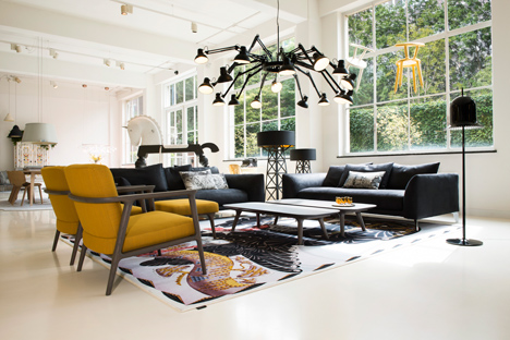 Moooi's Amsterdam showroom