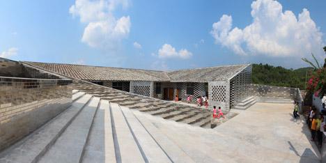 Mulan primary school by Rural Urban Framework