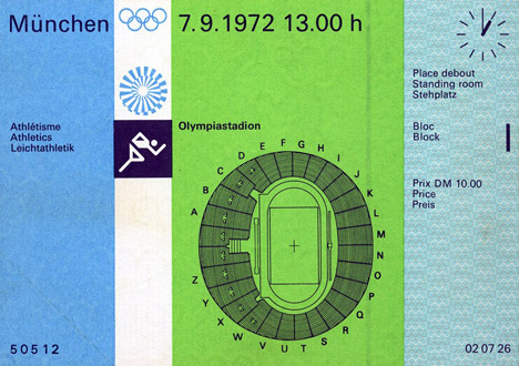 Adrian Frutiger's wayfinding for the 1972 Olympics in Munich