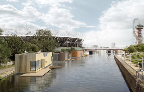Buoyant Starts Floating Homes by Baca