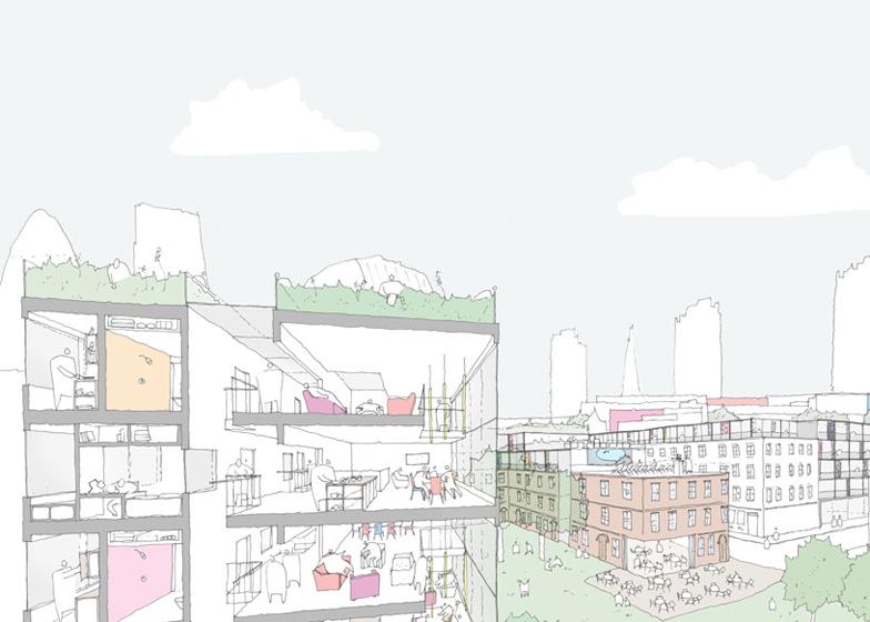 NLA compiles 100 designs to solve London housing crisis