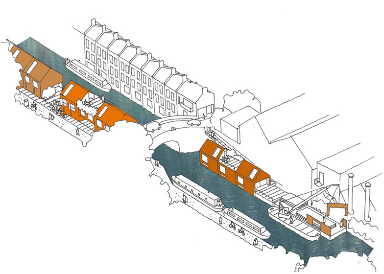 Canal Housing concept by Mae Architects