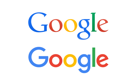 Comparison of Google logos