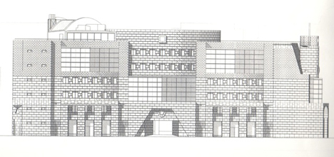 No 1 Poultry_James Stirling_drawing_dezeen_2