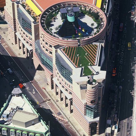 Postmodern architecture: No 1 Poultry, London, by James Stirling