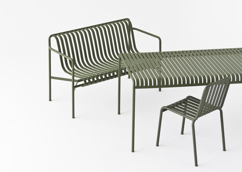 Palissade outdoor furniture by Studio Bouroullec for Hay