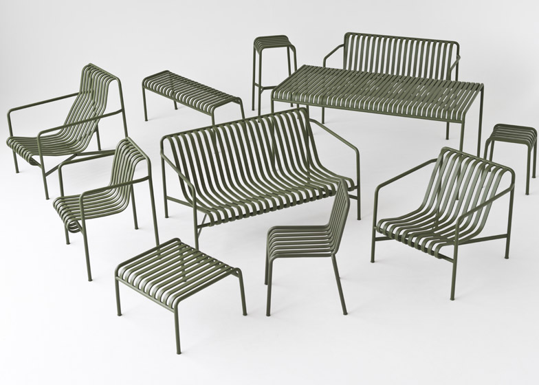 Design Outdoor Furniture attractive design outdoor furniture outdoor furniture dining with style home bunch interior 3 Of 9 Palissade Outdoor Furniture By Studio Bouroullec For Hay