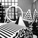 "Patternity installs black and white ""playground"" inside Somerset House"
