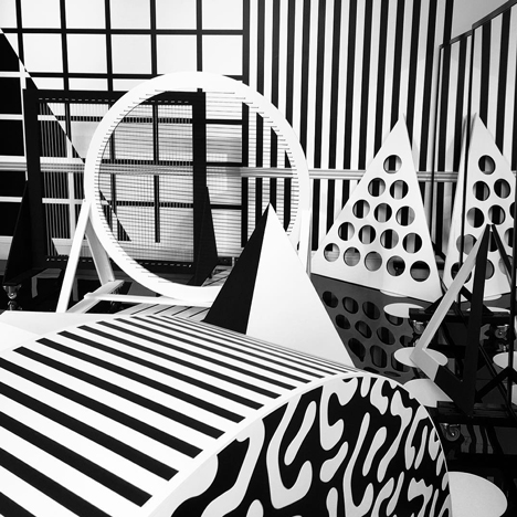 Patternity and Paperless Post's Connected by Pattern installation for LDF 2015