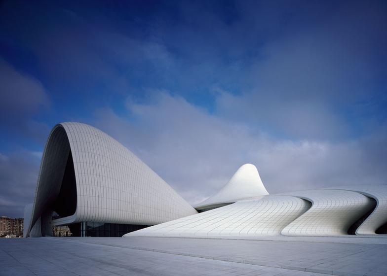 Heydar Aliyev Centre, Baku. Photograph by Hélène Binet