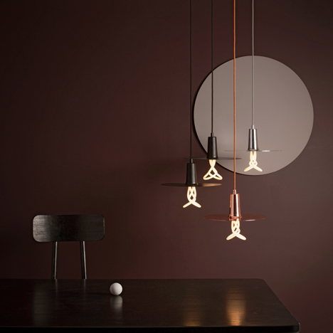 Plumen adds Drop Hat lamp shade to its growing lighting collection