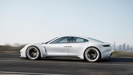 Porsche takes on Tesla with its Mission E concept car that can charge in 15 minutes