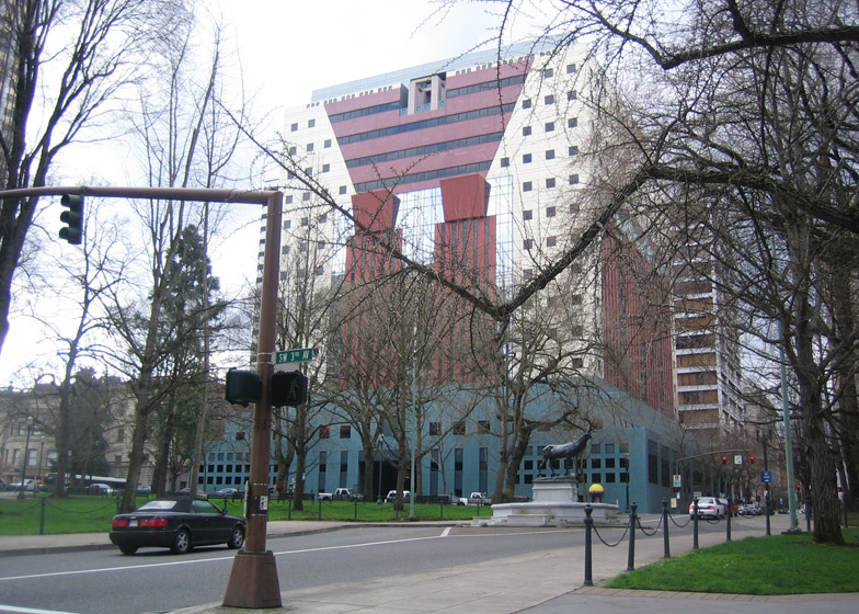 Portland Municipal Services Building, Oregon, by Michael Graves