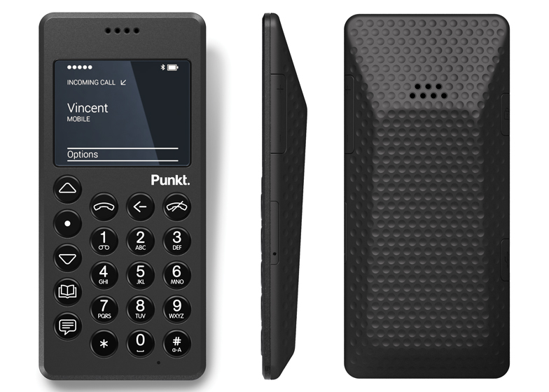 Punkt MP 01 phone designed by Jasper Morrison