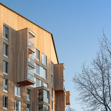 Finland's tallest wooden apartment block wins Finlandia Prize for Architecture 2015