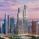 Rafael Viñoly unveils designs for pair of Chicago skyscrapers