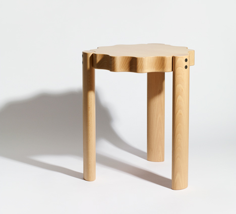 Ready Made Go exhibition Phillipe Malouin stool