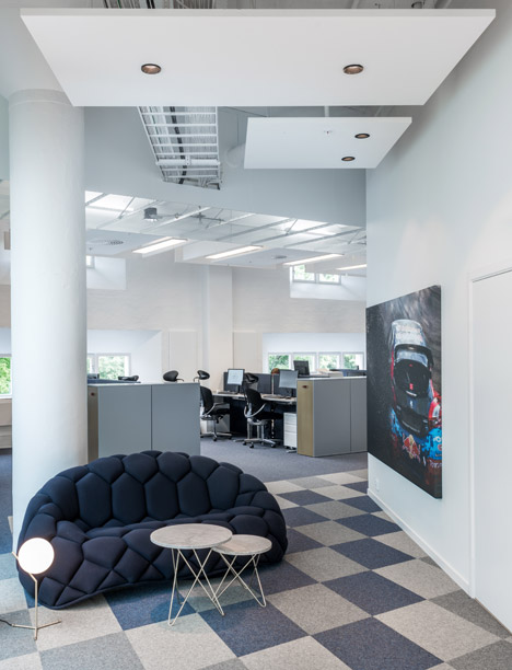 Red Bull offices by pS arkitektur