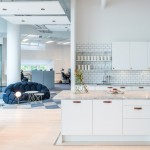 Red Bull's Stockholm office features modular mobile furniture