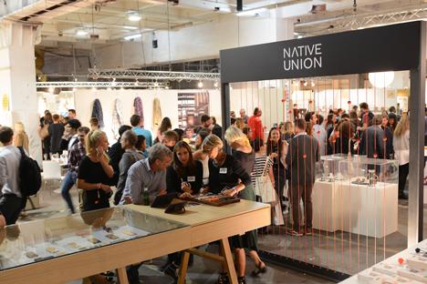 Retail space at designjunction