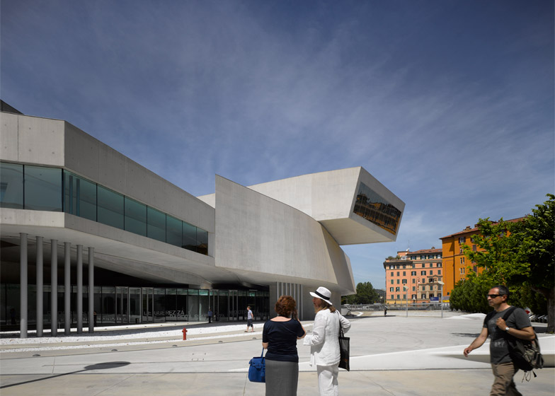 MAXXI: Museum of XXI Century Arts, Rome. Photograph by Richard Bryant