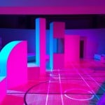 Gary Card creates MDF landscape for Roksanda's Spring Summer 2016 fashion show