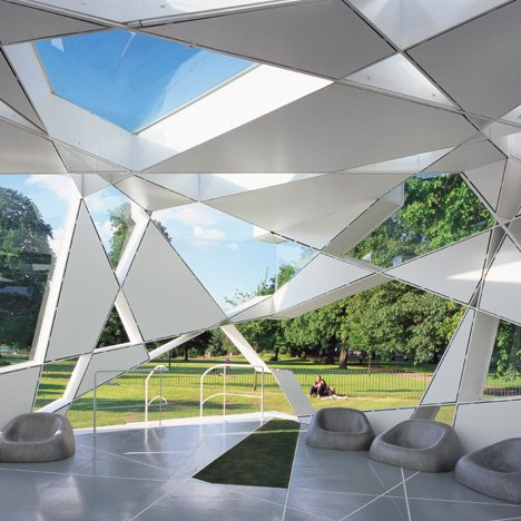 Serpentine Gallery Pavilion 2002 by Toyo Ito and Cecil Balmond