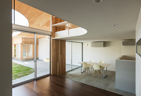 Shawl House by Y+M Design Office