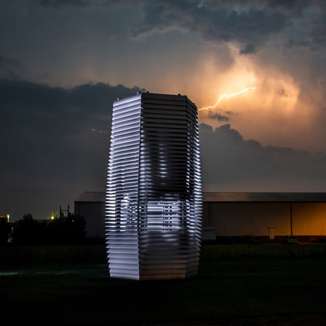 Smog Free Tower by Daan Roosegaarde