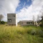 Concrete holiday homes by Adamo-Faiden occupy Uruguay's coastal woodland