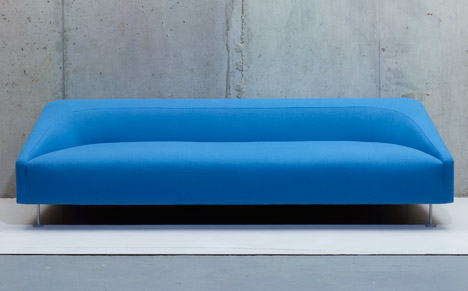Terence Woodgate's Linear sofa