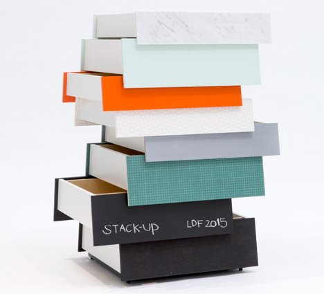 Stack Up by Raw Edges for Established &amp Sons