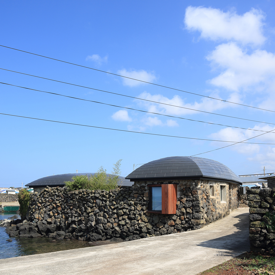 Century-old farmhouse on Jeju Island gets a whale-inspired makeover by Z Lab