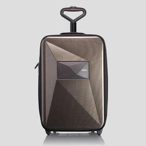 Studio Dror's expandable suitcase for Tumi