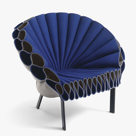 Studio Dror's Peacock chair for Cappellini