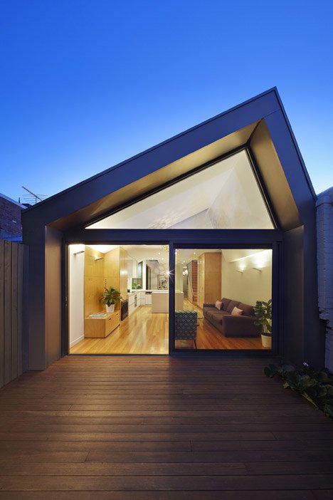 The Big House Little House by Nic Owen Architects