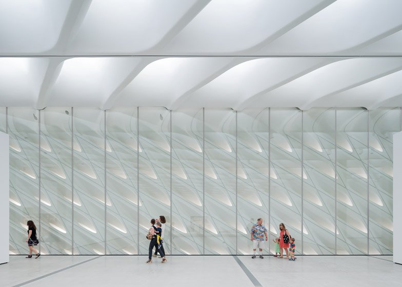 The Broad art museum in Los Angeles first images
