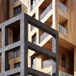 Hawkins\Brown pairs cross-laminated timber and steel for record-breaking apartment block