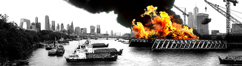 Green Fire Of London by Ben Weir