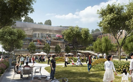 The Hills at Vallco by Rafael Vinoly