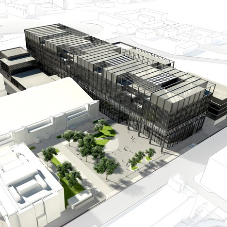 The Manchester University Engineering Campus Development by Mecanoo