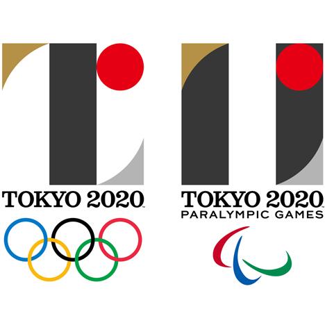 Tokyo 2020 Olympics and Paralympics logos