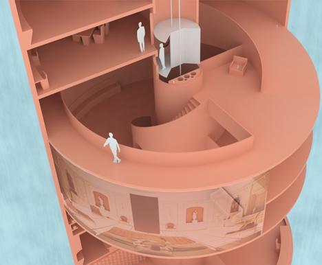Mars habitat designed by Team Staye