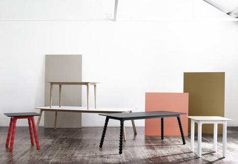 Hub table by Yves Behar for Tylko