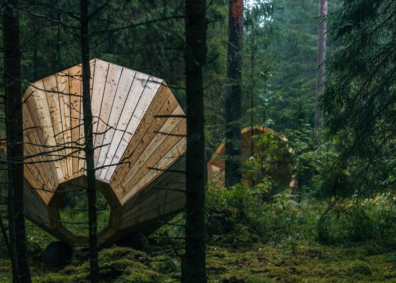 Unplugged Kingsize Megaphones by Estonian Academy of Arts interior architecture students