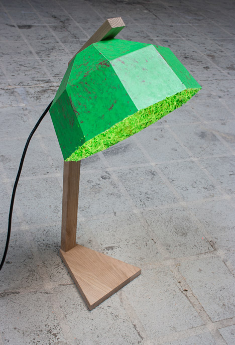 Lamp by Christophe Machet at Vienna (hi)story