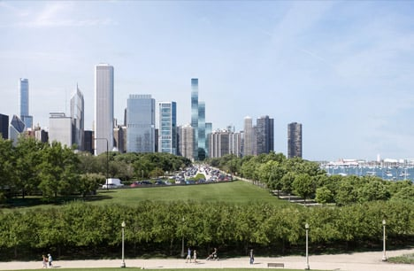 Vista Residences, Chicago by Jeanne Gang