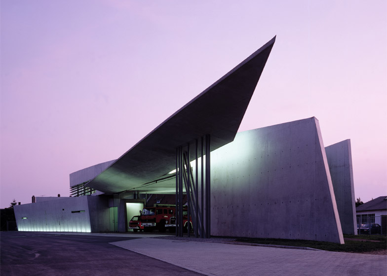 Vitra Fire Station, Weil am Rhein. Photograph by Christian Richters